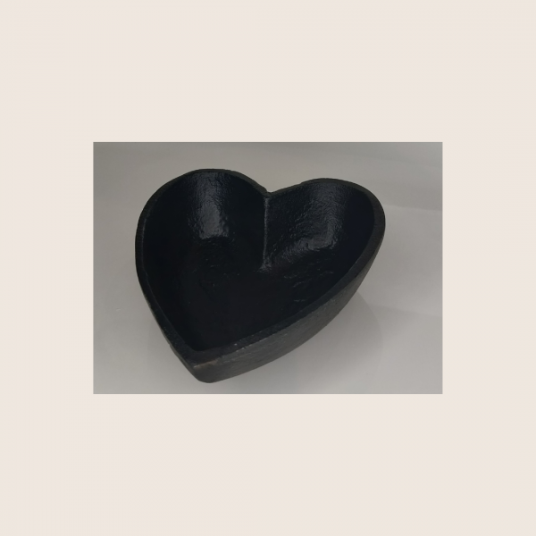 HEART SHAPED SMUDGE BOWL